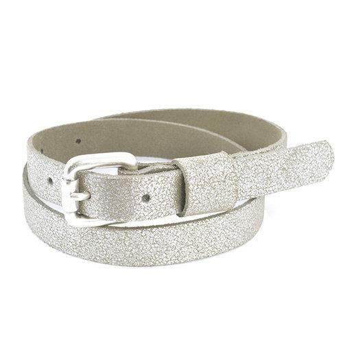Kidzzbelts GLITTER BELT 1712 | zilver