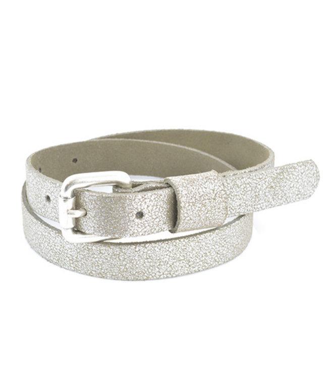 GLITTER BELT 1712 | zilver