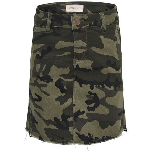 KIDS ONLY KONMIA CAMOU SKIRT 15179073