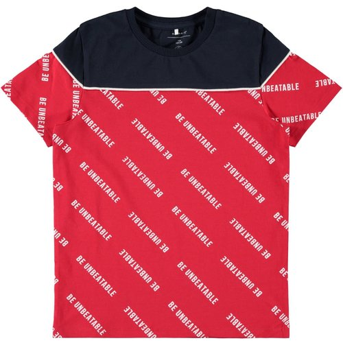 13172241 NKMBAX SLIM SS TOP // red
