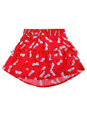 Little Miss Juliette 40-1407 SKIRT RUFFLE // red