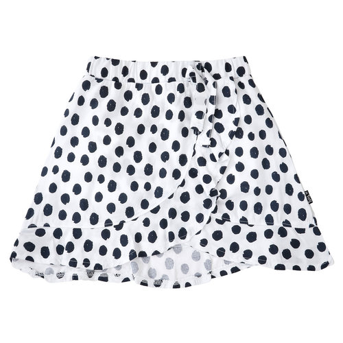 Little Miss Juliette 40-1408 SKIRT DOT // wht