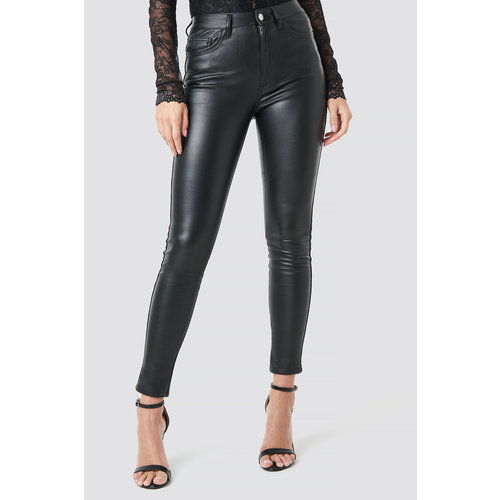 NA-KD 1018-002961 FAUX LEATHER TROUSERS