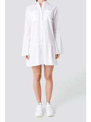NA-KD 1100-000884 Pocket Shirt Dress | white