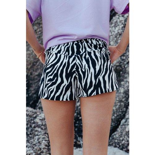 Colourful Rebel 6107 - Zebra shorts