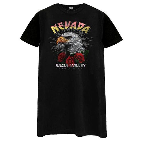 T-SHIRT DRESS NEVADA | black