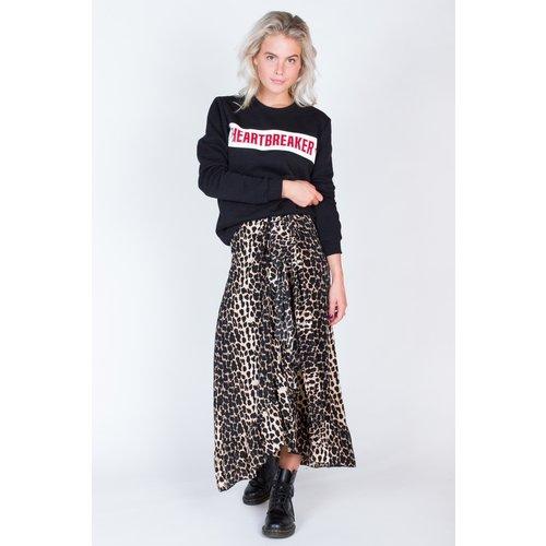 Colourful Rebel 5728 - Leopard Wrap Skirt