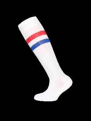 Ewers KNEE SOCKS 601052 | 1901 white/red/blue