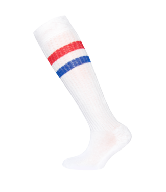 Ewers KNEE SOCKS 601052   1901 white/red/blue