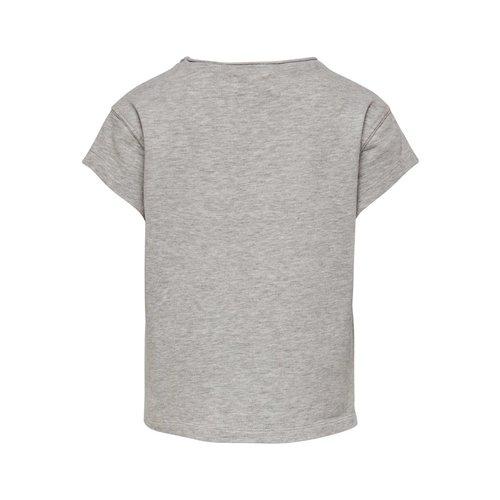 KIDS ONLY T-SHIRT NELLIE 15180361 | grey/wildest