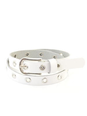 Kidzzbelts BELT 1985 EYELETS | white