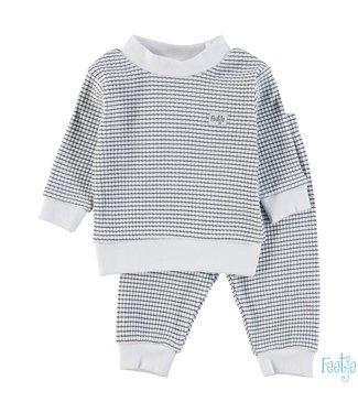Feetje Wafel pyjama 305.532 | marine