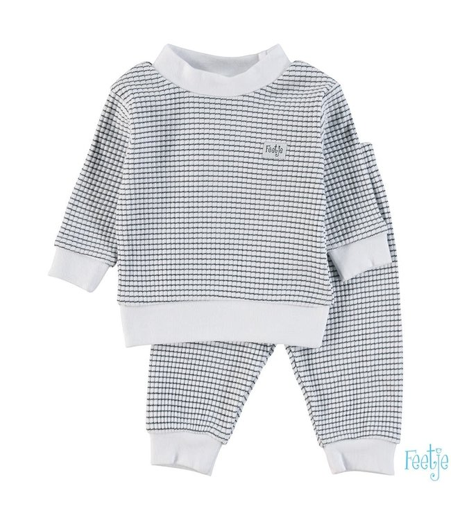 Wafel pyjama 305.532   marine
