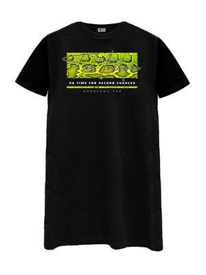 T-SHIRT DRESS TRES TOXIQUE D02096-J | black