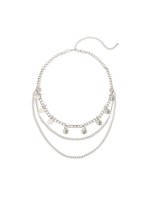 Chain Belt Queen of Coins | silver
