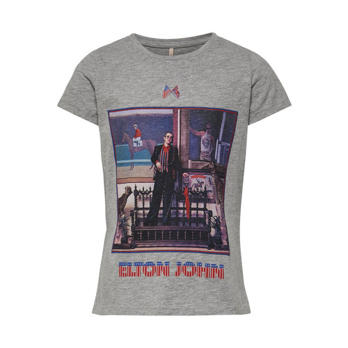 KIDS ONLY T-SHIRT 15183151 ELTON JOHN | light grey