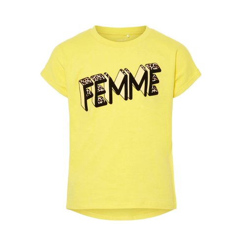 NKFLENNA SS TOP 13175945 | yellow