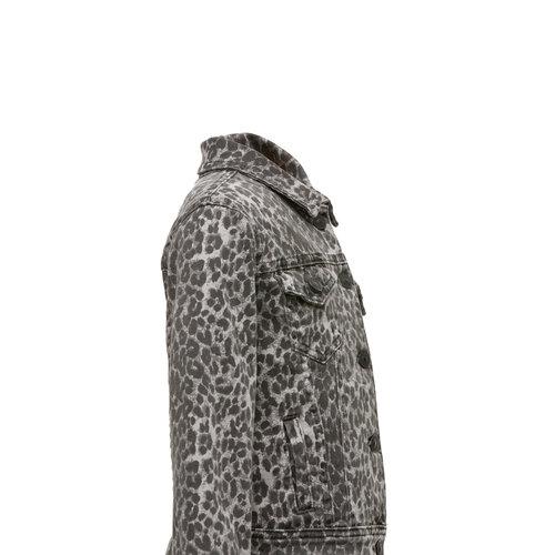 LTB DENIM JAKET DEAN | grey leopard