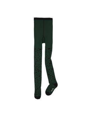 CarlijnQ Spotted animal - tights (green)