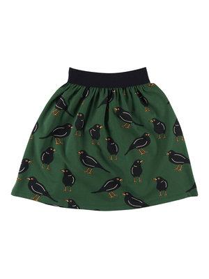 CarlijnQ Black bird - long skirt