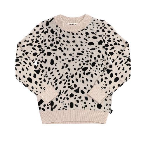 CarlijnQ Spotted animal - sweater (knitted)