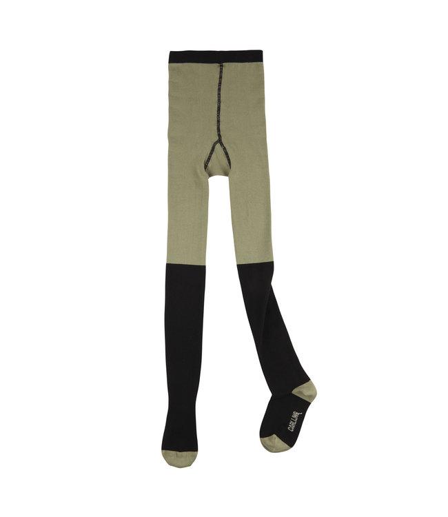 Green / black - tights