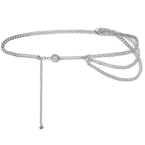 Chain Belt When in Rome | silver