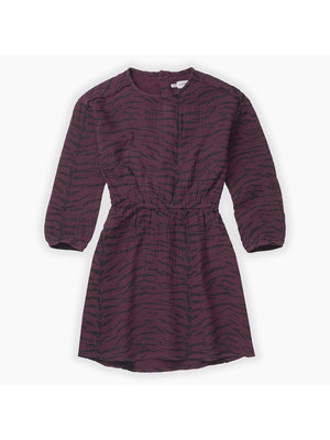 Sproet&Sprout Woven dress Tiger AOP (W19-900)