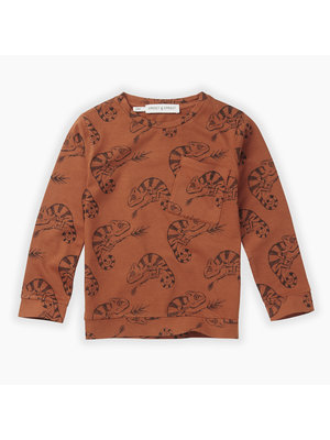 Sproet&Sprout T-shirt Chameleon AOP (W19-851)