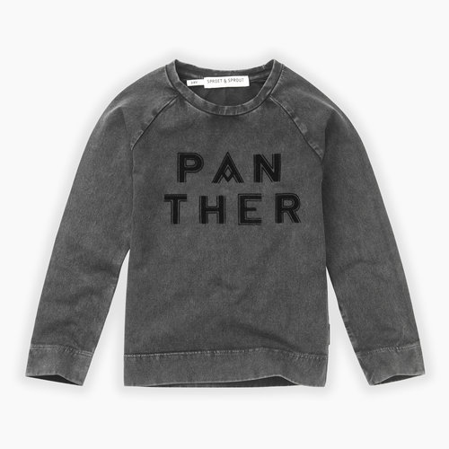 Sproet&Sprout T-shirt Panther text (W19-856)