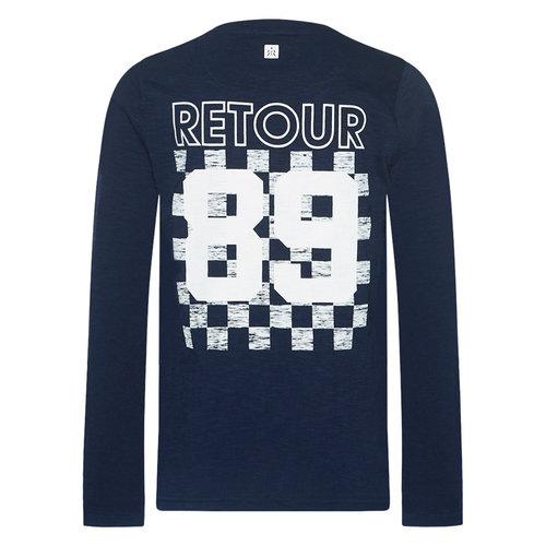 Retour NOUD   5075 dark indigo blue