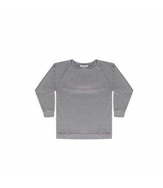 MINGO long sleeve B/W stripes jersey