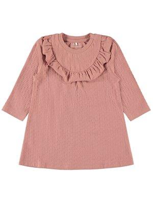 NBFOMINA LS DRESS 13169673 | dusty rose