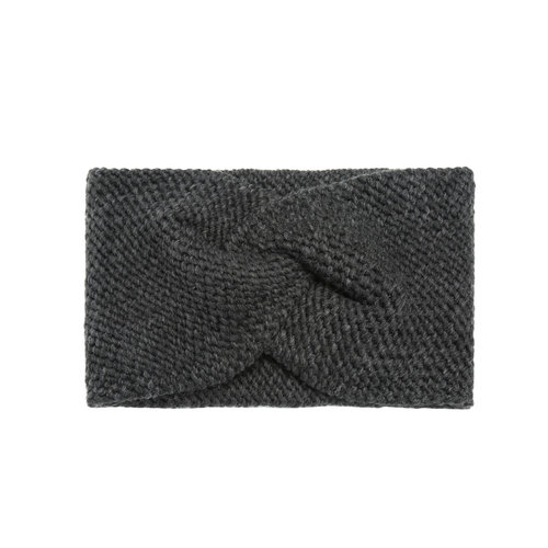 Headband Soft as Snow   dark grey