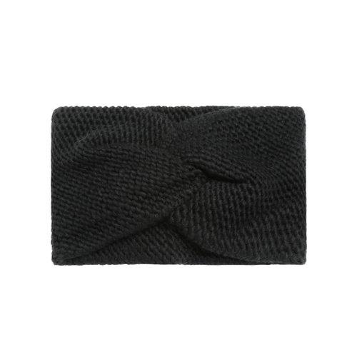 Headband Soft as Snow   black