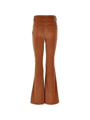 Cost:Bart ANNE CORD BOOT CUT PANTS 14429 | sugar almond