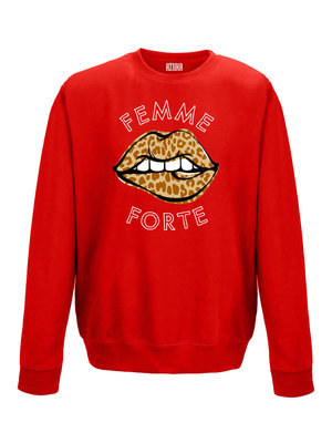SWEATER FEMME FORTE | red