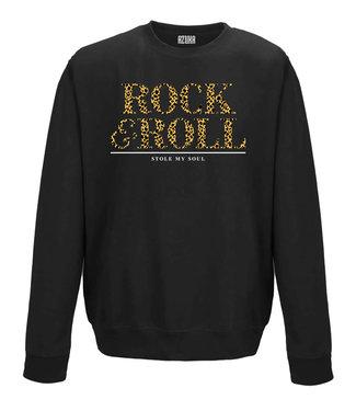 AZUKA SWEATER ROCK & ROLL   black