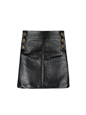 FLO IMI LEATHER SKIRT F909-5749