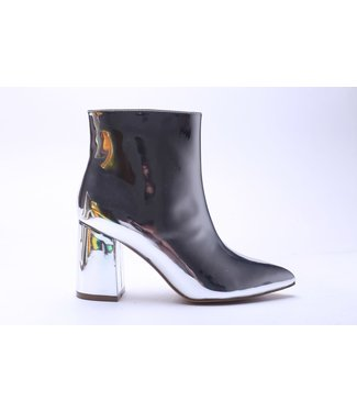 ANKLE BOOTS METALLIC SILVER