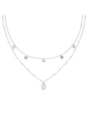 Necklace Mary Go Round | silver