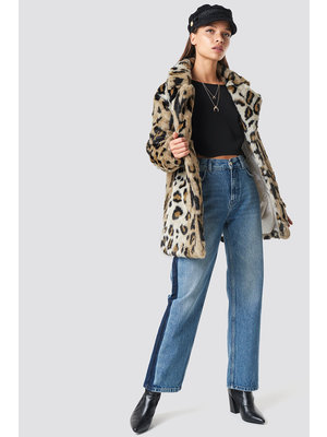 NA-KD LEO FAUX FUR JACKET 1100-000230