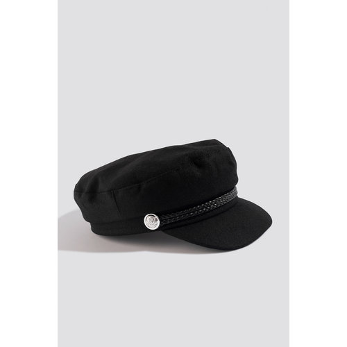 NA-KD CAPTAINS HAT 1015-002130 | black