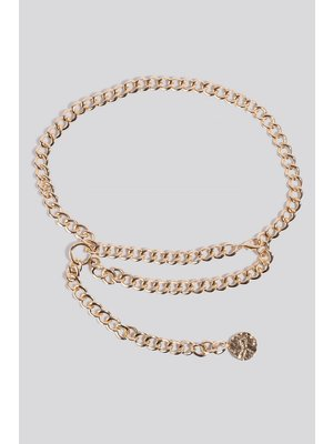 NA-KD Glam Waist Chain 1628-000039 | gold