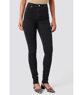 NA-KD SKINNY HW TALL 1100-001960 | black