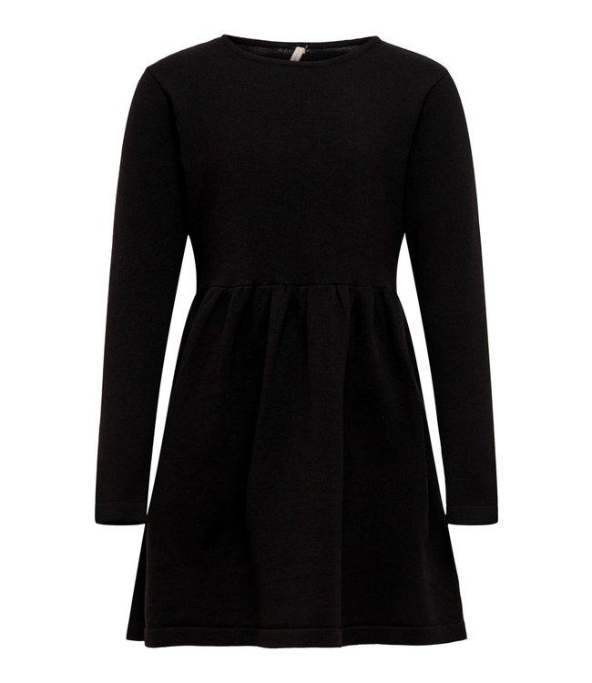 konEMY L/S DRESS KNT 15186877 | Black