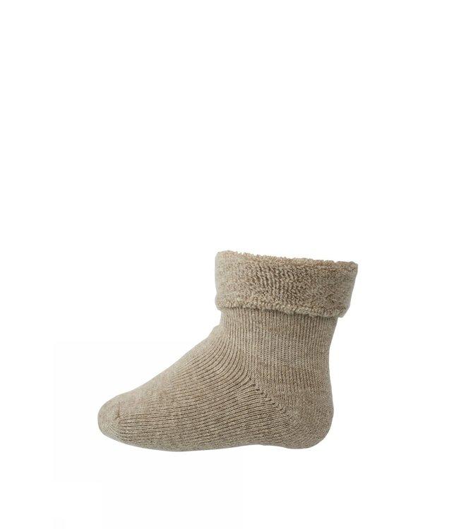 Socks terry 709 | 489 light brown mel