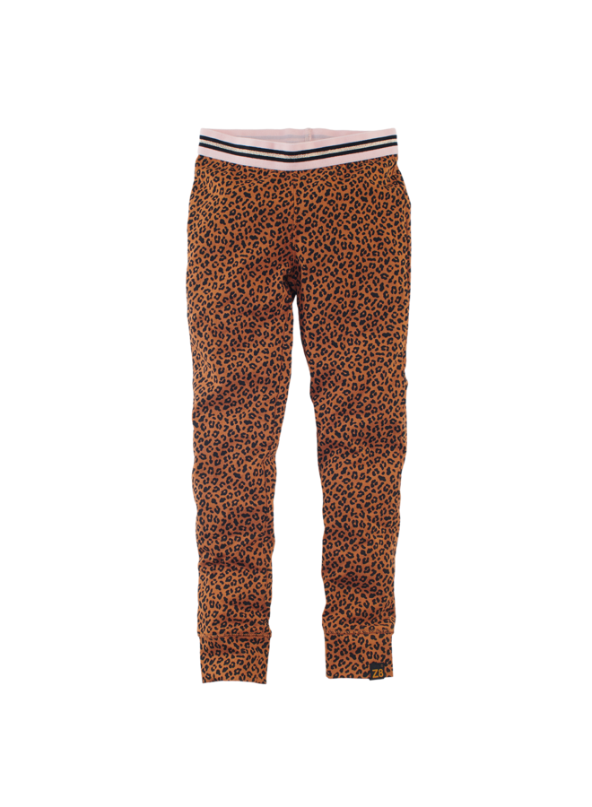 ANASTACIA // cognac leopard