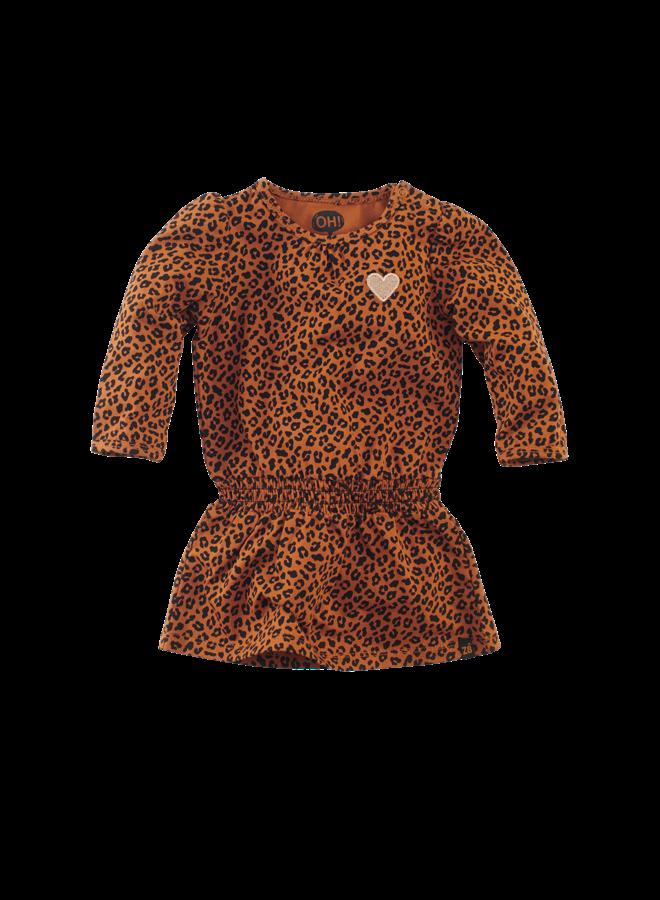 AMALIA // cognac leopard