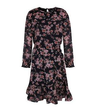 KIDS-UP FLOWER DRESS 7503569 // black